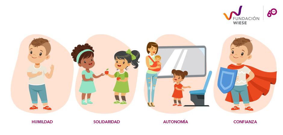 valores que deben conocer los niños
